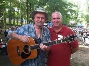 Tom Paxton with Editor Michael Kornfeld